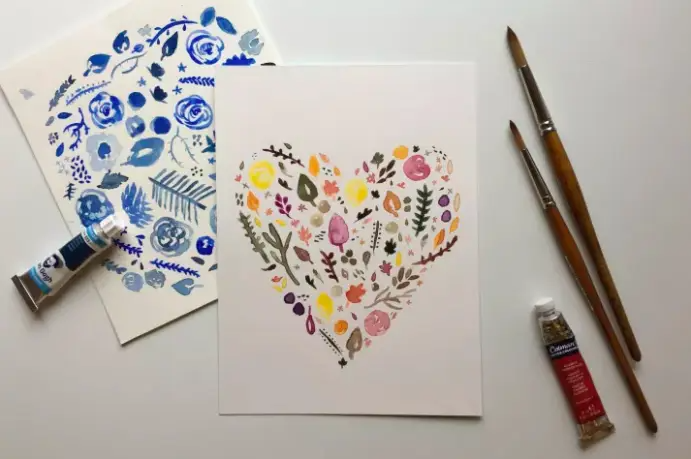 Even if you're not the most artistic person, learning watercolor basics can be a simple and satisfying way to entertain yourself. Plus, you can hang your pretty creations on your fridge or show 'em off on Instagram.To get started, there are loads of free tutorials on YouTube, or you could check out Beginning Watercolors classes on Creativebug.