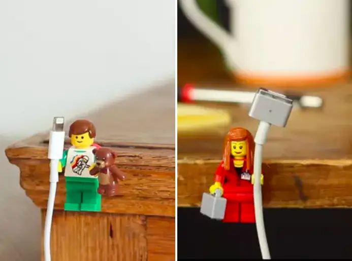 Upcycling is literally turning your trash into treasure. Look around your house or inside your recycling bin for items you thought were useless. Then, instead of tossing them, you can transform them into something clever, like the Lego charger holders above. It's a hobby that's good for you and the planet!Check out these impossibly cute DIYs to find a potential project for your stuff.