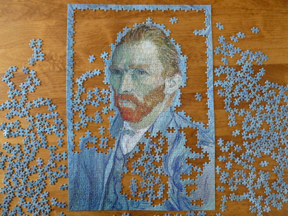 Image result for van gogh puzzle